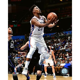 Jimmy Butler 2018-19 Action Photo Print