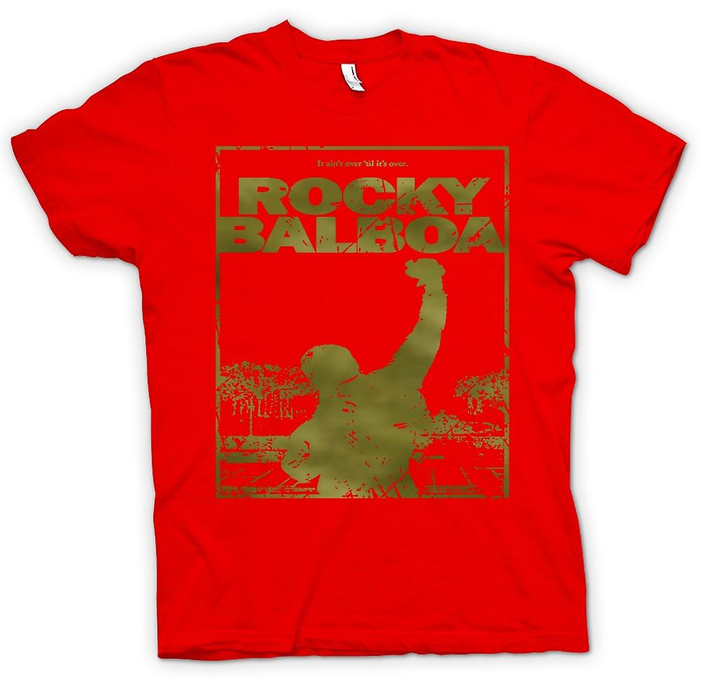 Mens t-shirt-Rocky Balboa Punch - Movie - Funny