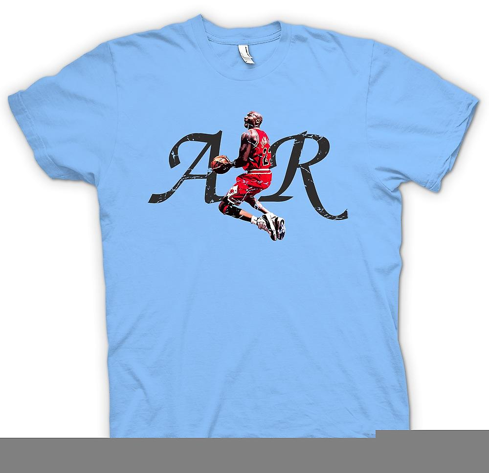 Mens T-shirt - Air Jordon - Cool Basketball