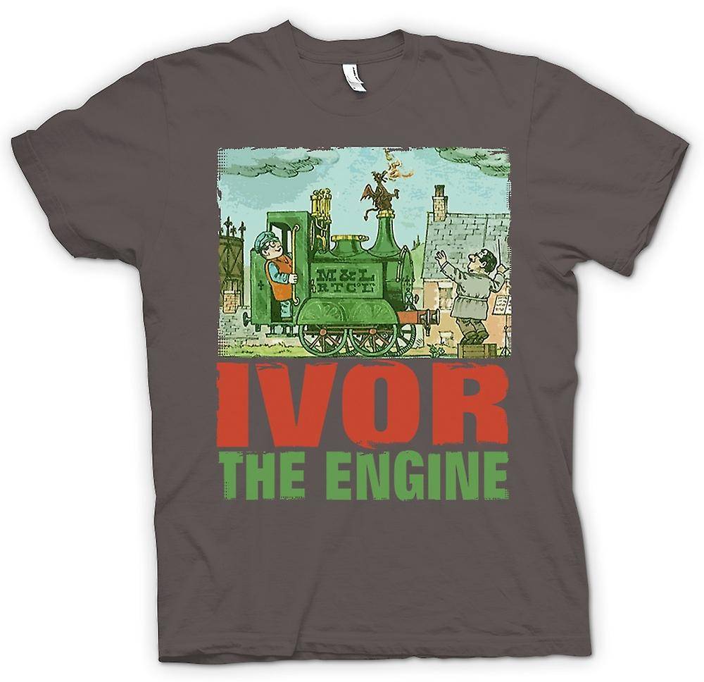 Mens T-shirt - Ivor The Engine - Jones And Dai