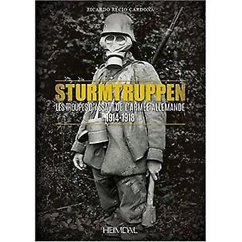 Les Troupes d'Assaut de l'Armee Allemande - 1914-1918 by Ricardo Recio