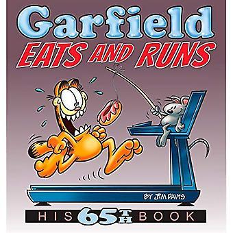 Garfield äter och körs