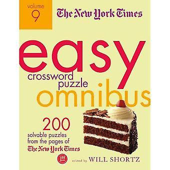 The New York Times Easy Crossword Puzzle Omnibus Volume 9