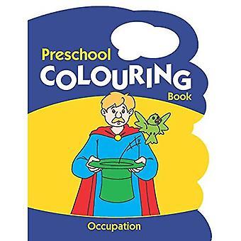 Ockupationen (förskola målarböcker)
