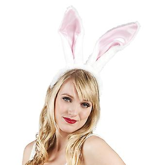 Womens grote Bunny oren hoofdband Fancy Dress accessoire