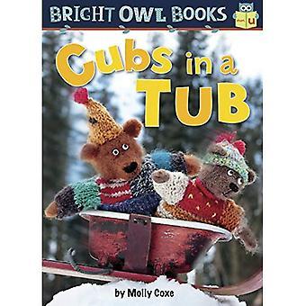 Cubs in a Tub: Short Vowel U (Bright Owl Books)