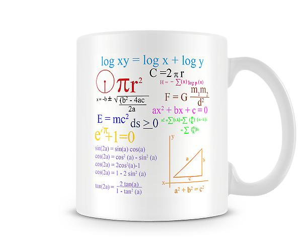 Maths Equations Mug