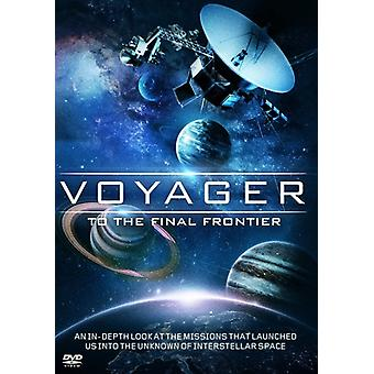 Voyager: To the Final Frontier [DVD] USA import