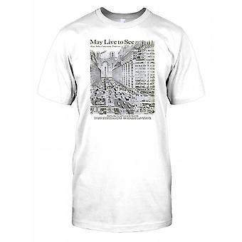 1950 Future City - Cool Retro Sci Fi T-shirt