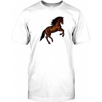 Beautiful Rearing Horse - Cool Equine Mens T Shirt