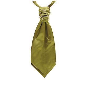 Foulard in raso verde pre-legato di calce Dobell Boys