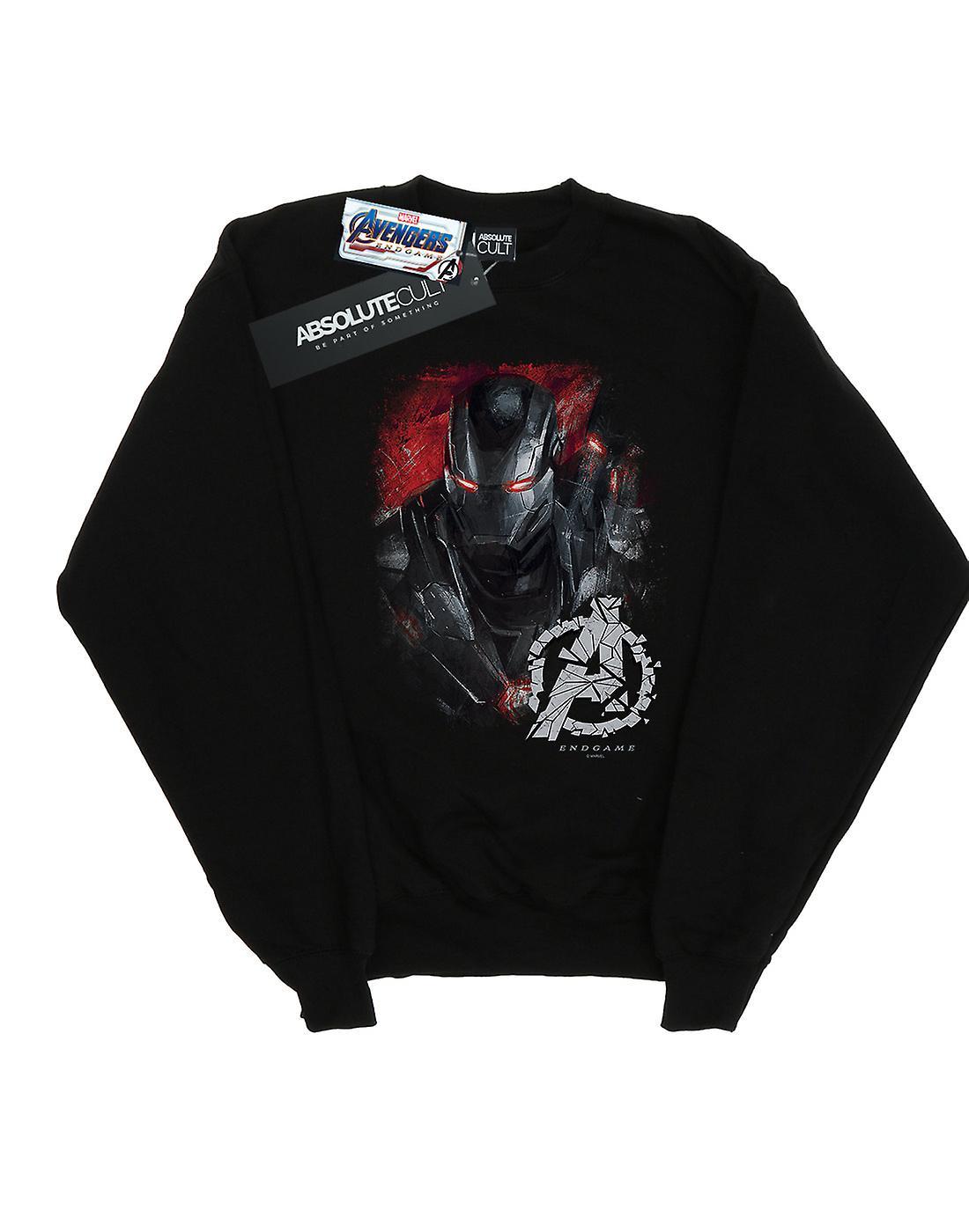 Marvel Avengers ragazzi Endgame macchina da guerra spazzolato Sweatshirt