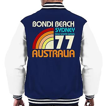 Bondi Beach Retro 77 Men's Varsity Jacket