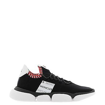 Moncler Black Polyester Sneakers