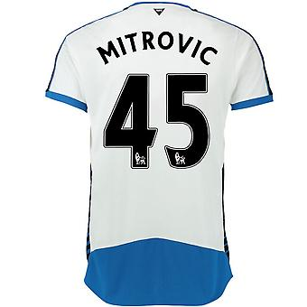 2015-16 Newcastle hem skjorta (Mitrovic 45)