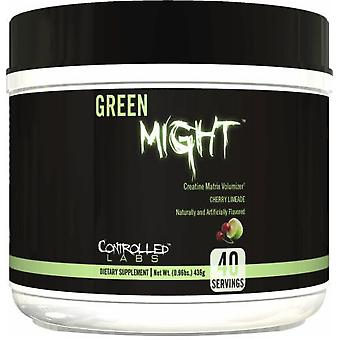 Controlled Labs Green Might Powder  428 gr (Sport , Muscle mass , Creatine)