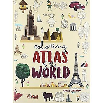 World Coloring Atlas by Giulia Lombardo - 9788854411463 Book