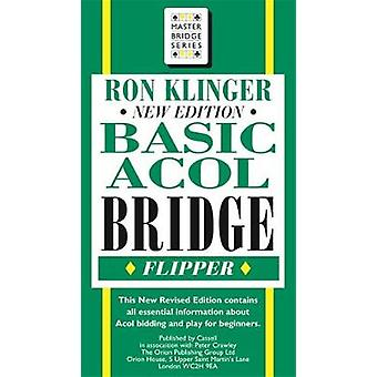 Basic Acol Bridge Flipper by Ron Klinger - 9780304362790 Book