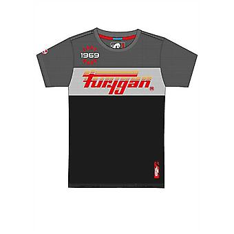 Furygan Grey-Black-White MC Herald T-Shirt