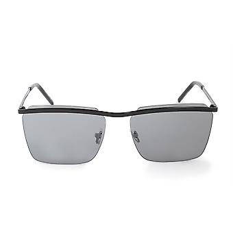 Saint Laurent SL 243 004 60 Rimless Rectangular Sunglasses