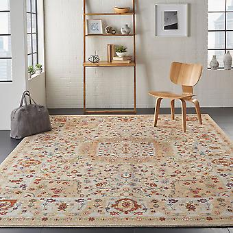 Majestic Nourison MST03 Sand  Rectangle Rugs Traditional Rugs