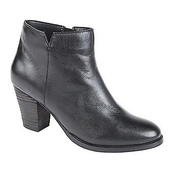 Mod Comfys Womens/Ladies Softie Leather Ankle Boots
