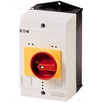 Boîtier + interrupteur Kill (L x L x H) 160 x 100 x 130 mm gris, rouge, jaune Eaton CI-K2-PKZ0-GR 1 pièce (s)
