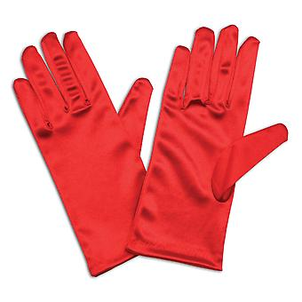 Bristol Novelty Womens/Ladies Satin Feel Gloves (1 Pair)