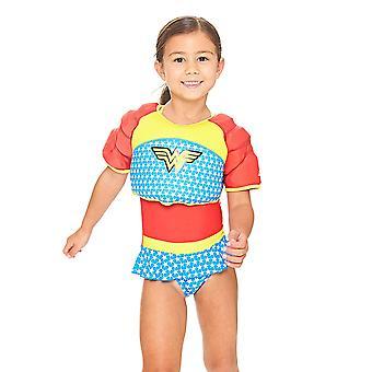 Zoggs Kids' Water Wing zwemmen Float Vest, Wonder Woman