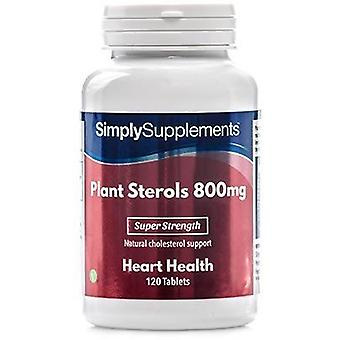 Simply Supplements Plant Sterols 800mg 120 Tablets