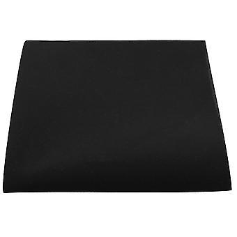 Luxury Black Velvet Pocket Square, Handkerchief