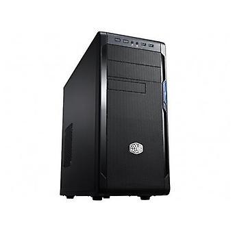 Cooler master n300 case midi-tower 8 slot hdd 2 slot unit black optics italy (nse-300-kkn1)
