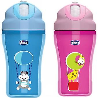 Chicco Glass Paseo 18M + Pink or Blue (Assorted) (Kitchen , Household , Child's)