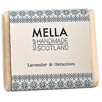 Lavanda & gerânio sabonete bar-Mella handmade sabonetes Shetland