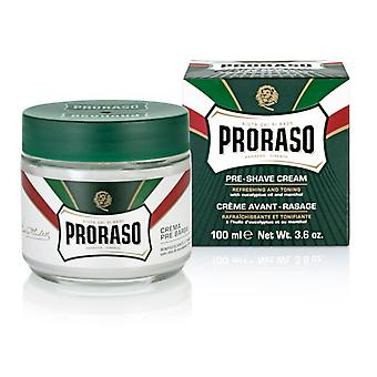 Proraso Green Pre-Shave Cream with Eucalyptus Oil 100ml/3.4oz