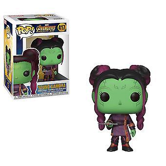 Funko 35774 POP! Bobble: Marvel: Infinity War S2: Young Gamora w/Dagger