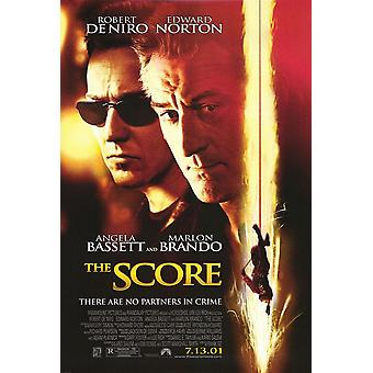 The Score (2001) Original Cinema Poster
