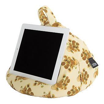 iBeani iPad, Tablet & eReader Bean Bag Stand / Cushion - National Gallery Van Gogh Sunflowers