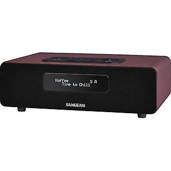 Sangean DDR-36 BT Bathroom Radio, Red