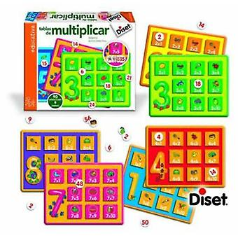 Diset Multiply Skateboard (Toys , Educative And Creative , Mathematics)