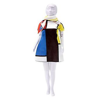 Dress Your Doll Twiggy Mondriaan (Toys , Educative And Creative , Design And Mode , Mode)