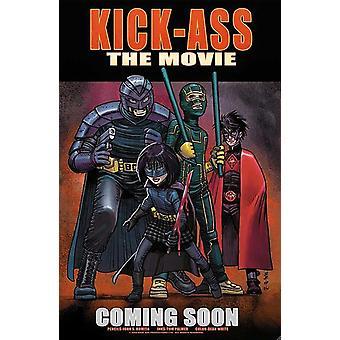 Kick Ass - style H Movie Poster (11 x 17)