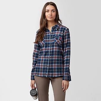 Blue Brakeburn Women's Large Check Flanel Shirt