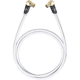 Antennas, SAT Cable [1x Belling-Lee/IEC plug 75Ω - 1x Belling-Lee/IEC socket 75Ω] 1.20 m 120 dB gold plated connectors W