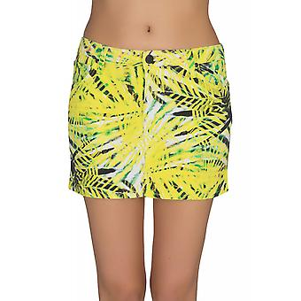 Lee Mini Skirt Rock Damen Minirock Gelb L309FRGZ