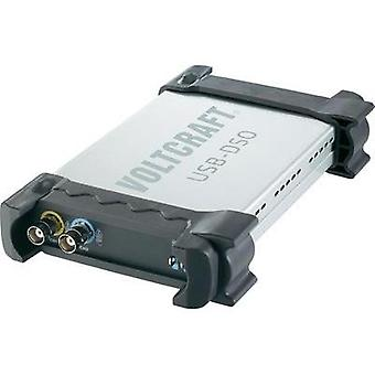 PC scope module VOLTCRAFT DSO-2020 USB 20 MHz 2-channel 48 null 1 null 8 Bit Digital storage (DSO)