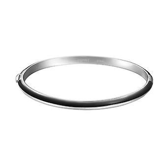 ESPRIT women's Bangle Marin 68 steel-black stainless steel ESBA10212J600