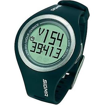 Heart rate monitor watch with chest strap Sigma PC 22.13 MAN Gray Grey