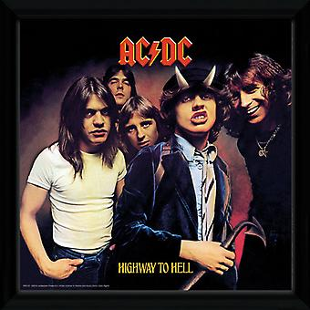AC/DC Highway To Hell oprawione Album Print