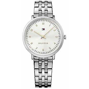 Tommy Hilfiger Womans Pippa Silber Stahl 1781762 Uhr
